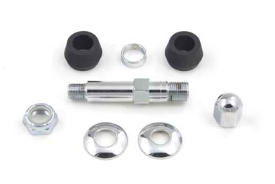 XL 1956-1974 Chrome Lower Rear Shock Stud Kit