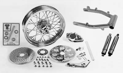 Swingarm and Brake Assembly Kit for FX 1973-1978 Big Twins