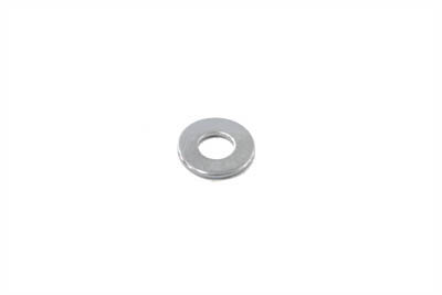 "Chrome Flat Washer 1/4"" Inner Diameter"