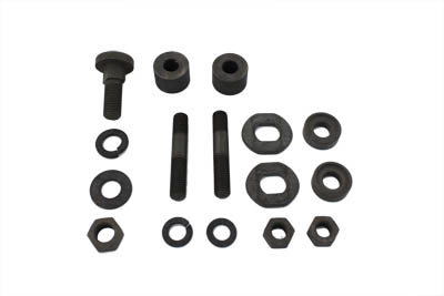 Parkerized Seat T Mount Kit for Big Twins & Side Valve 45